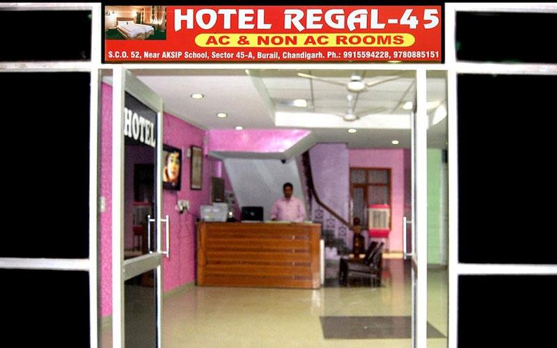 hotel regal 45 chandigarh